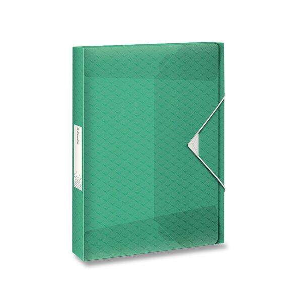 Box na dokumenty Esselte Colour'Ice ledově zelená