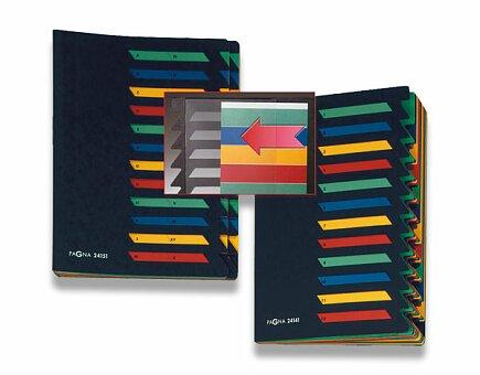 Obrázek produktu Podpisová třídící kniha Pagna - A4, 12 oddílů, barevná