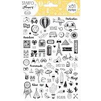 Stampo Planner Aladine - Cestování