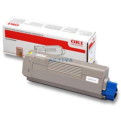 Obrázek produktu OKI - toner C610, yellow (žlutý) pro laserové tiskárny