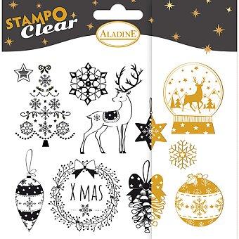 Stampo Clear Aladine - Vánoce - 11 ks