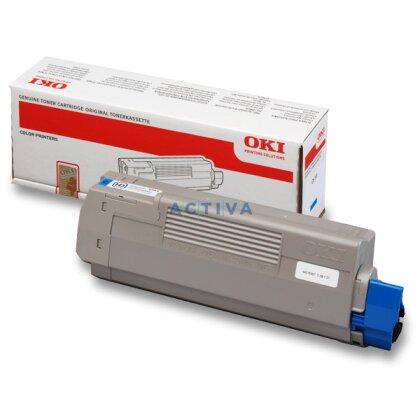 Obrázek produktu OKI - toner C610, cyan (modrý) pro laserové tiskárny