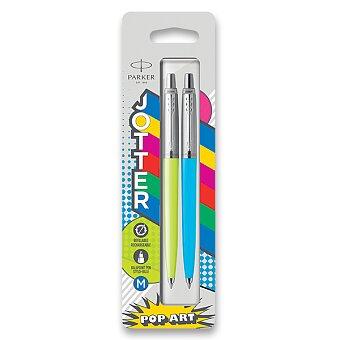 Obrázek produktu Kuličková tužka Parker Jotter Originals PopArt Duo - lime / sky blue,  2 ks