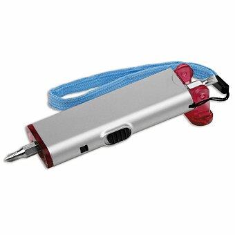 Obrázek produktu TOOLIGHT - plastový šroubovák s 2 LED svítilnou, výběr barev