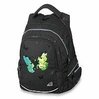Školní batoh Walker Fame Sparkling Butterfly