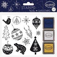 Stampo Nöel Aladine - Vánoční kostelace