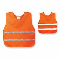 SKIBI II - polyesterová reflexní vesta, dětská velikost, výběr barev