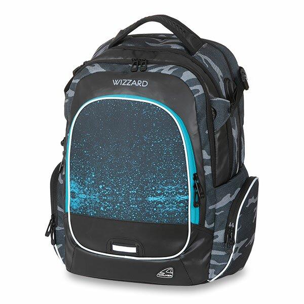 Školní batoh Walker Campus Wizzard Camo Blue 4f9fec4c52