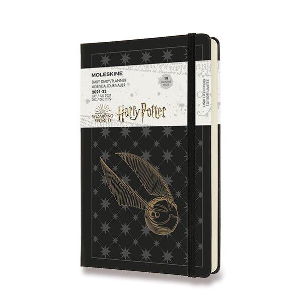 18měsíční diář Moleskine 2021-22 Harry Potter