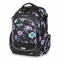 Školní batoh Walker Campus Wizzard Flower Violet