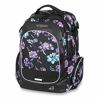 Obrázek produktu Školní batoh Walker Campus Wizzard Flower Violet