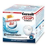 Náhradní tablety 2 v 1 Ceresit Stop vlhkosti Micro