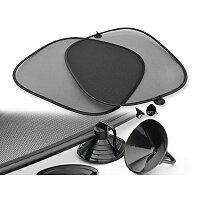 SHADY - polyesterové stínítko, 2 ks, černá