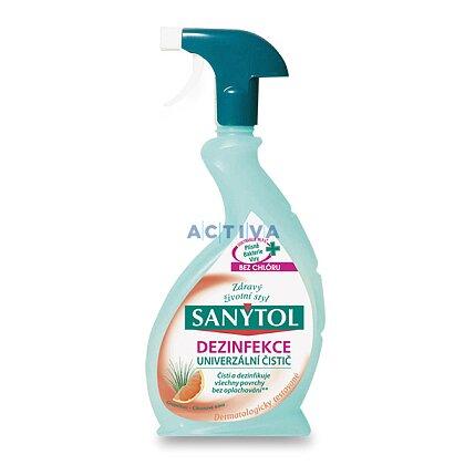 Obrázek produktu Sanytol - dezinfekční čistič bez chloru - grep, 500 ml