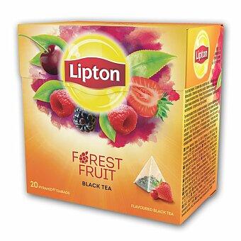 Obrázek produktu Černý čaj pyramida Lipton Forest Fruit Tea - 20 sáčků