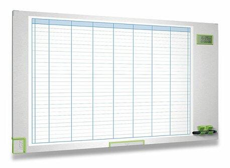 Obrázek produktu Týdenní plánovací tabule - 105 x 60 cm, magnetická
