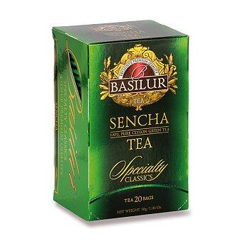 Obrázek produktu Zelený čaj Basilur Sencha Tea Speciality - 20 x 1,5 g