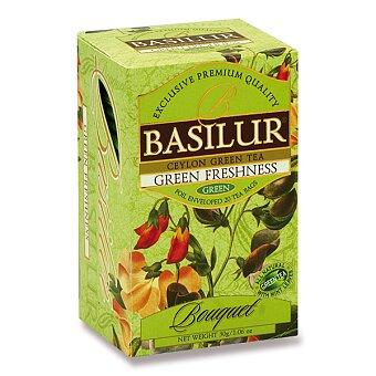 Obrázek produktu Zelený čaj Basilur s mátou - 20 x 1,5 g