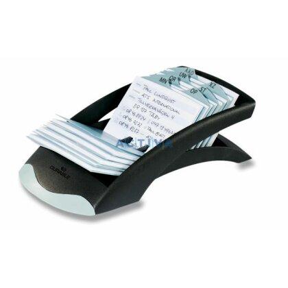 Obrázek produktu Durable Telindex Desk - kartotéka na vizitky - černá