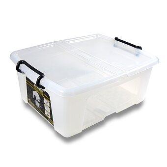 Obrázek produktu Úložný box s víkem CEP Strata - 397 x 498 x 202 mm, objem 24 l