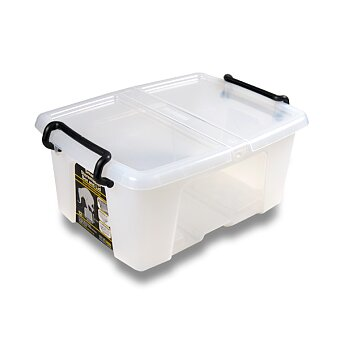 Obrázek produktu Úložný box s víkem CEP Strata - 295 x 405 x 183 mm, objem 12 l