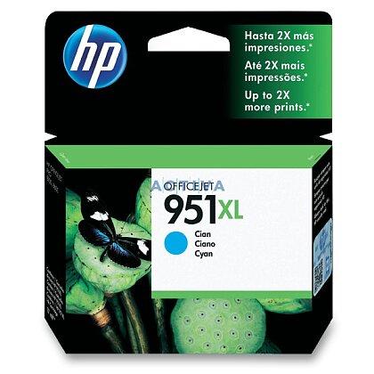 Obrázek produktu HP - cartridge CN046AE, cyan (modrá) č. 951 XL pro inkoustové tiskárny