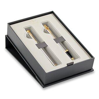 Obrázek produktu Parker IM Brushed Metal GT - sada plnicí pero a kuličková tužka