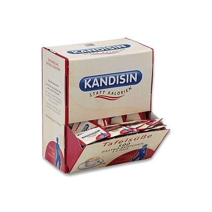 Obrázek produktu Kandisin box - umělé sladidlo - 500 ks