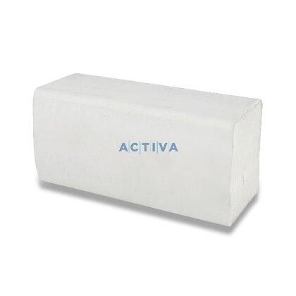 Obrázek produktu Papírové ručníky - 2vrstvé, bílé, 150 ks