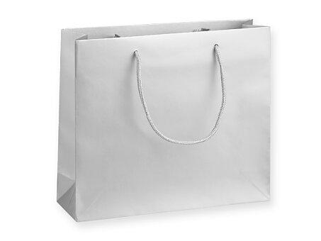 Obrázek produktu SILVER LUX - dárková papírová taška, 32 × 10 × 27,5 cm, stříbrná
