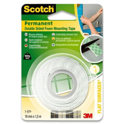 Obrázek produktu permanentní oboustranná pěnová montážní páska Scotch®
