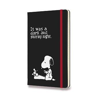 Obrázek produktu 18měsíční diář Moleskine 2021-22 Peanuts - tvrdé desky - L, týdenní, černý