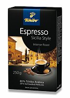 Vakuovaná mletá káva Tchibo Espresso Sicilia Style
