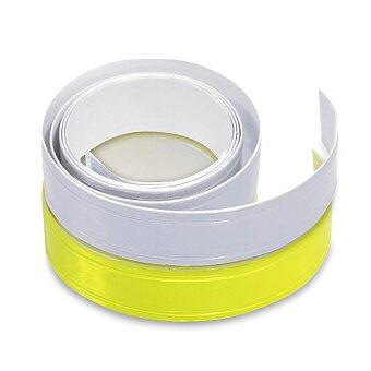 Obrázek produktu Samolepicí reflexní páska 2 cm x 90 cm - žlutá nebo stříbrná