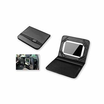 Obrázek produktu CARLET - organizér do auta s držákem na tablet z imitace kůže, černá