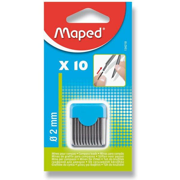 Náhradní tuhy do kružítka Maped 10 ks v balení