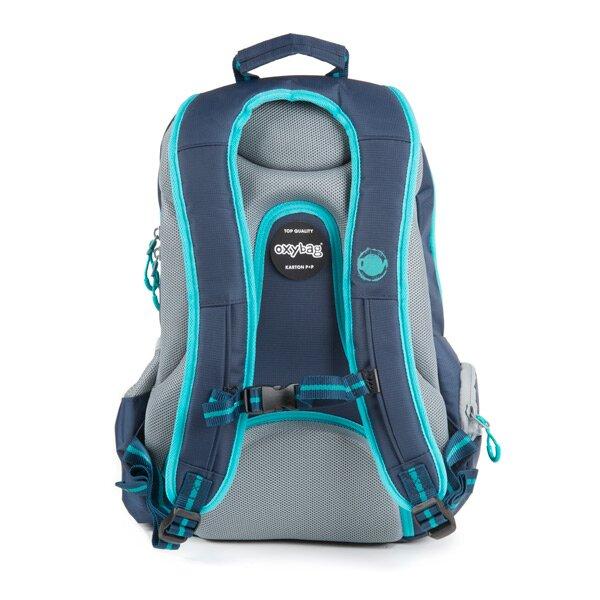 bfda2bd889 Studentský batoh OXY Sport Blue Line - Tyrkys