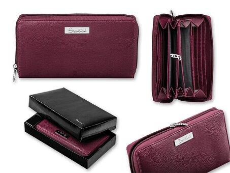 Obrázek produktu KIARA - dámská peněženka, SANTINI, bordó