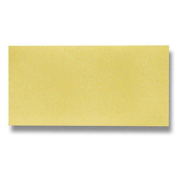 Barevná dopisní karta Clairefontaine zlatá, DL
