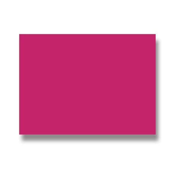 Barevná dopisní karta Clairefontaine malinová, 70 x 95 mm
