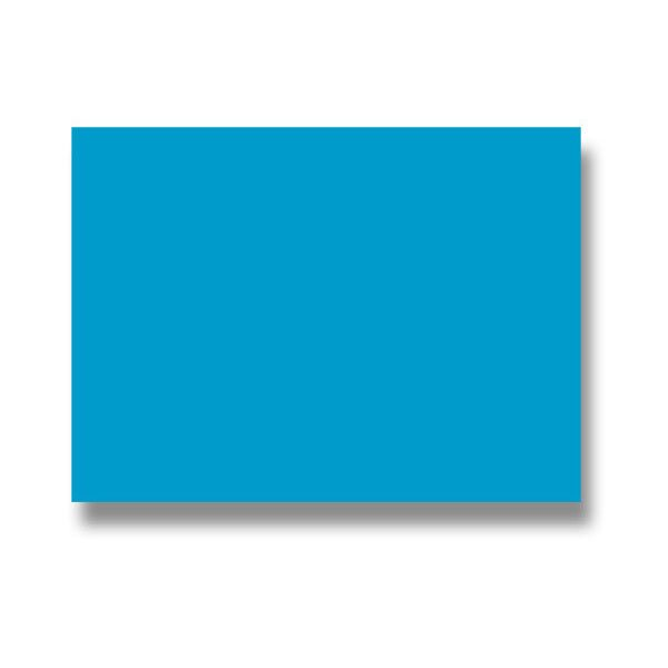 Barevná dopisní karta Clairefontaine modrá, 70 x 95 mm