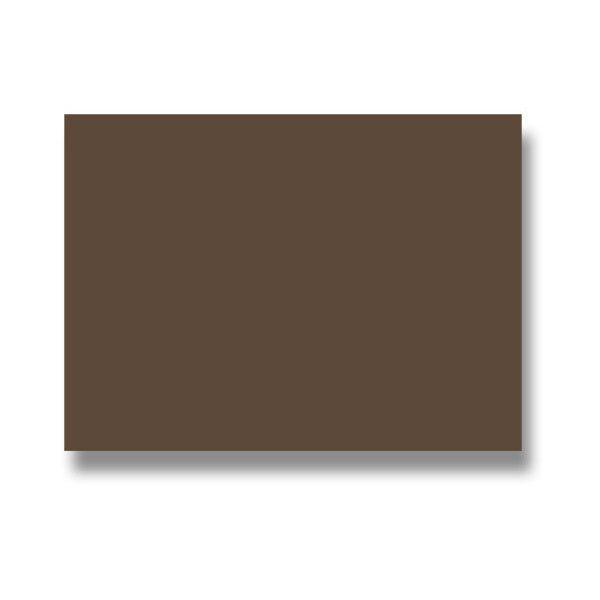 Barevná dopisní karta Clairefontaine hnědá, 70 x 95 mm