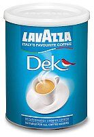 Bezkofeinová mletá káva Lavazza Decaffeinato