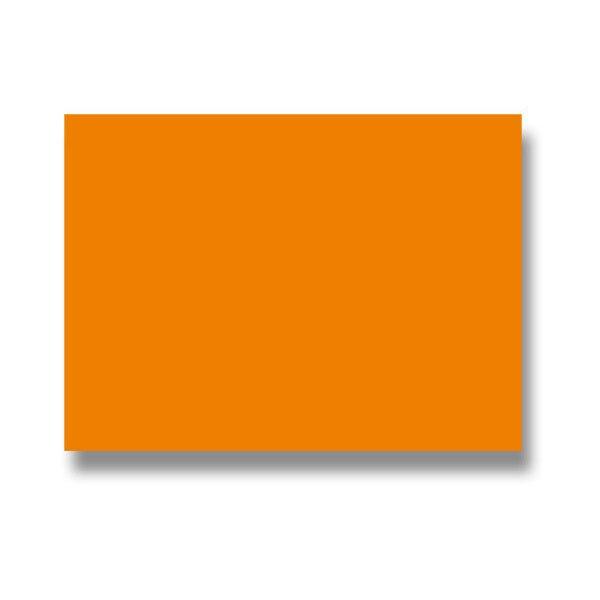 Barevná dopisní karta Clairefontaine tm.oranžová, 70 x 95 mm