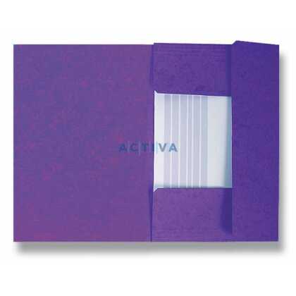 Obrázek produktu HIT Office - 3chlopňové desky - fialové