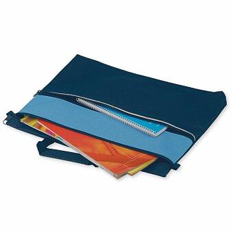 Obrázek produktu AIRA - polyesterová taška na dokumenty, 600D, výběr barev - světle modrá