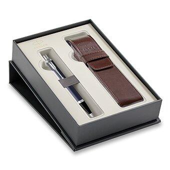 Obrázek produktu Parker IM Blue CT - kuličková tužka, dárková sada s pouzdrem