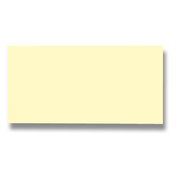 Barevná dopisní karta Clairefontaine sv. žlutá, DL