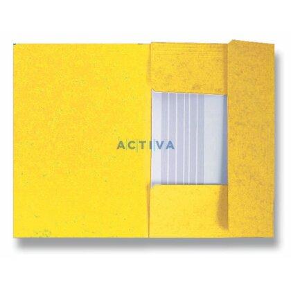 Obrázek produktu HIT Office - 3chlopňové desky - žluté