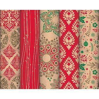 Obrázek produktu Balicí papír Baroque Christmas - 2 x 0,7 m, mix motivů